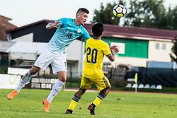 Dejan Vokic of Slovenia during football match between Slovenia and Kazahstan in Qualifying round for European Under-21 Championship 2019, on September 11, 2018 in Mestni Stadium Ptuj, Slovenija, 2018. Photo Grega Valancic