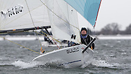 ENGLAND, London, Queen Mary Sailing Club, January 9th 2010, Bloody Mary Pursuit Race, RS 400 953,