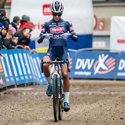 05-01-2020: Wielrennen: DVV veldrijden: Brussel <br />Ceylin Del Carmen Alvarado is weer de sterkste deze keer in Brussel