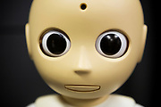 Roboten CommU (Communication Unity)<br /> ATR Hiroshi Ishiguro Laboratories<br /> <br /> The Robot CommU (Communication Unity)<br /> ATR Hiroshi Ishiguro Laboratories<br /> <br /> <br /> Fotograf: Christina Sj&ouml;gren<br /> Copyright 2018, All Rights Reserved