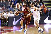 DESCRIZIONE : Roma Campionato Lega A 2013-14 Acea Virtus Roma Umana Reyer Venezia<br /> GIOCATORE : Vitali Luca<br /> CATEGORIA : palleggio contropiede<br /> SQUADRA : Umana Reyer Venezia<br /> EVENTO : Campionato Lega A 2013-2014<br /> GARA : Acea Virtus Roma Umana Reyer Venezia<br /> DATA : 05/01/2014<br /> SPORT : Pallacanestro<br /> AUTORE : Agenzia Ciamillo-Castoria/M.Simoni<br /> Galleria : Lega Basket A 2013-2014<br /> Fotonotizia : Roma Campionato Lega A 2013-14 Acea Virtus Roma Umana Reyer Venezia<br /> Predefinita :