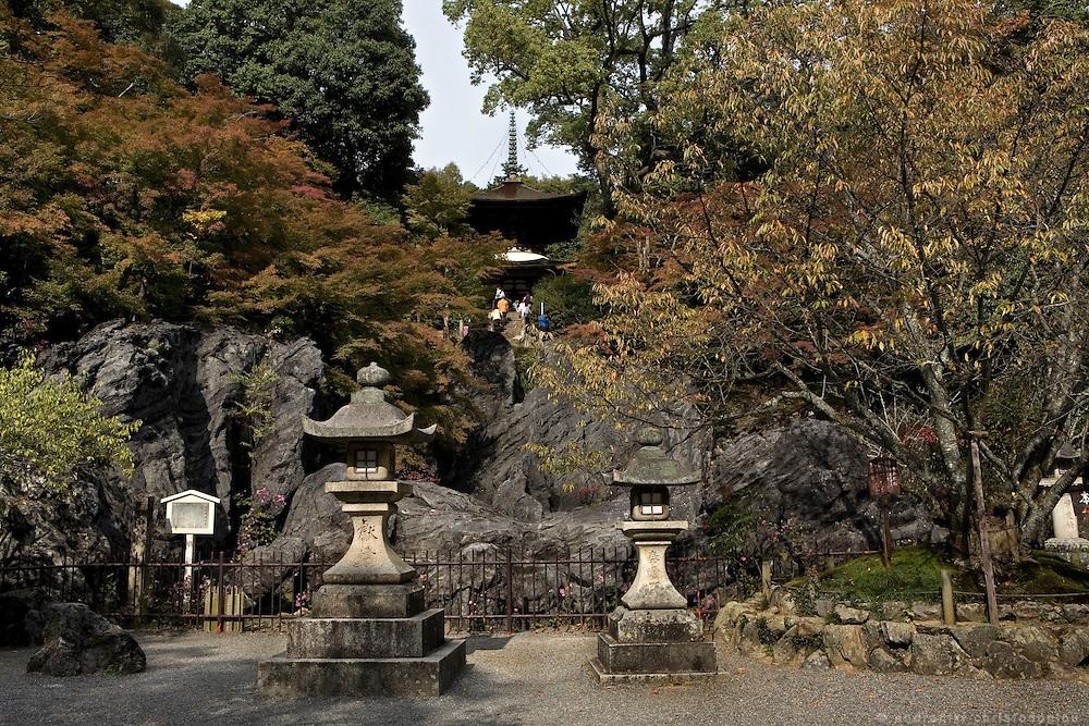 "Views of Ishiyamadera temple where lady Murasaki started writing ""The Tale of Genji"" , a 1000 years ago.."