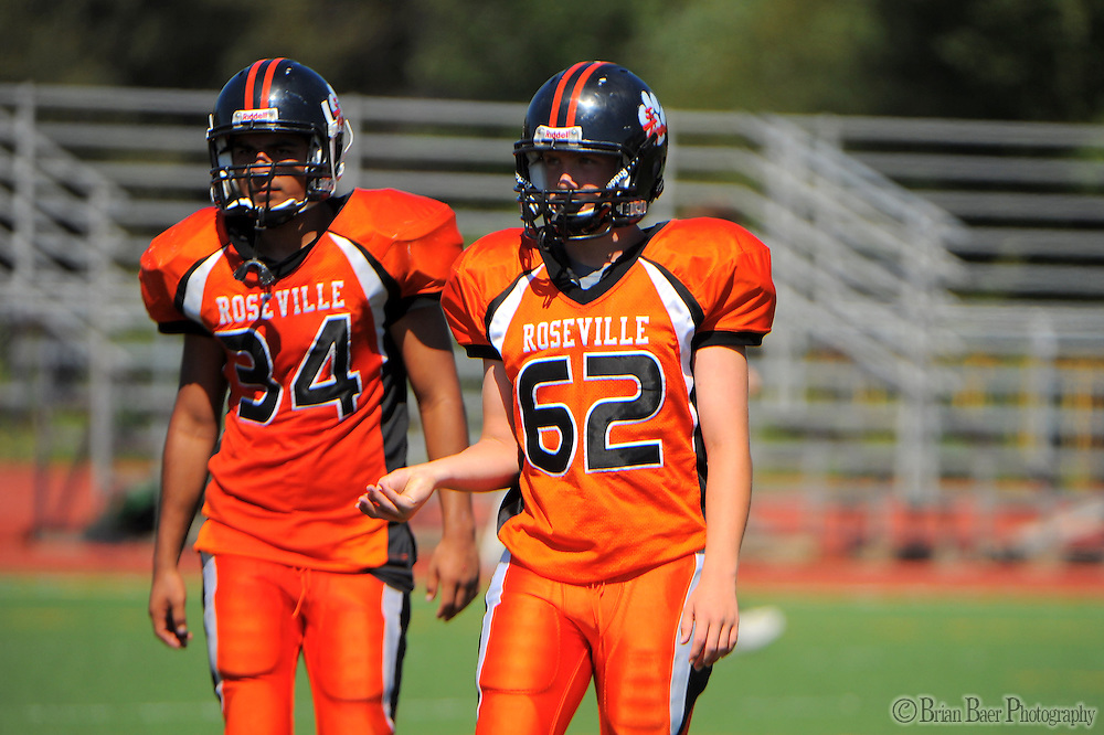 The 2011 Rosville Tigers football faces Woodland at Del Oro High School, Sunday Sept. 4, 2011..Photo Brian Baer