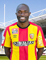 Christian BEKAMENGA - 30.10.2015 - Portrait Officiel - Lens<br /> Photo : RC Lens / Icon Sport