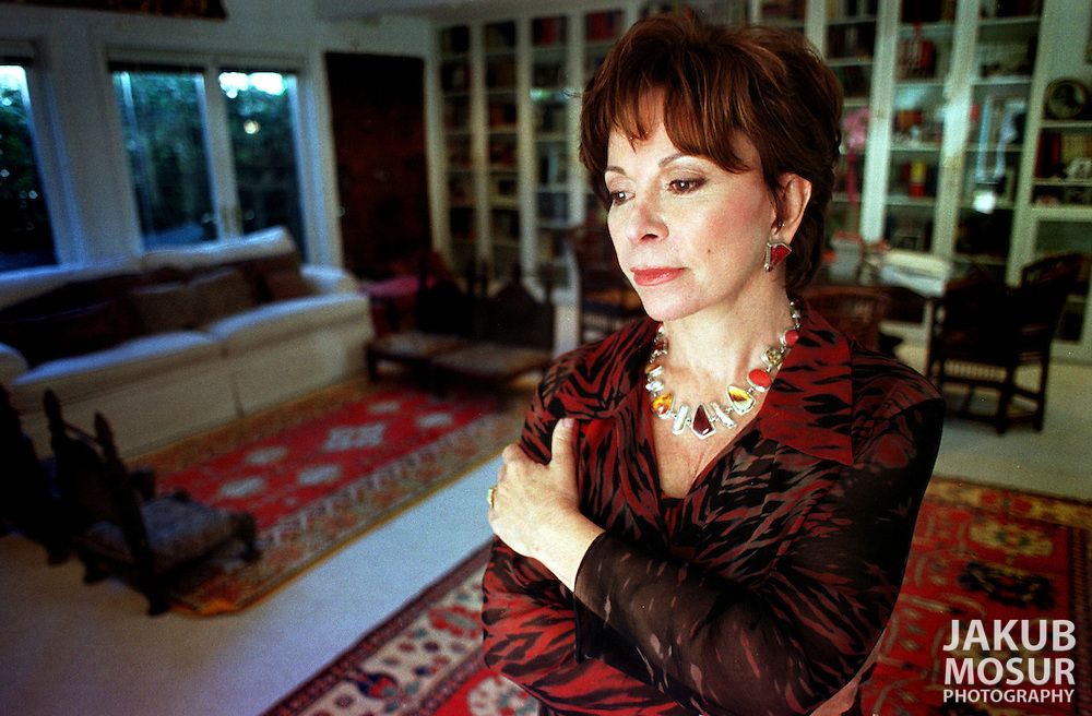 Isabel Allende stands in her office in Sausalito, Calif. On September 12, 2000. Allende is the niece of Dr. Salvador Allende Gossens who had been elected president of Chile in 1970 but had been ousted by coup led by Augusto Pinochet in 1973. On September 14, 2000 the US Government will be releasing documents on the CIA involvement in the 1973 coup. (AP photo/Jakub Mosur)