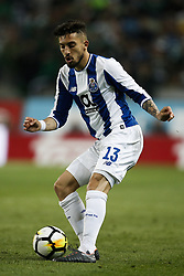 April 18, 2018 - Lisbon, Portugal - Porto's defender Alex Telles in action  during Portuguese Cup 2017/18 match between Sporting CP vs FC Porto, in Lisbon, on April 18, 2018. (Credit Image: © Carlos Palma/NurPhoto via ZUMA Press)