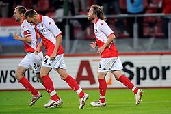 29-08-2009 VOETBAL: FC UTRECHT - SPARTA: UTRECHT<br /> Utrecht wint met 2-0 van Sparta / Gregoor van Dijk scoort de 2-0<br /> ©2009-WWW.FOTOHOOGENDOORN.NL