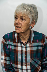 Pictured: Bea Jones, mother of Moira Jones and founder of The Moira Fund <br /> Justice Secretary Michael Matheson was in Edinburgh today to announce a GBP13.8 million three-year funding deal for Victim Support Scotland. Mr Matheson was joined by charity chief executive Kate Wallace and Bea Jones, mother of Moira Jones and founder of The Moira Fund who has been campaigning for this service. <br /> <br /> Ger Harley | EEm 19 April 2018