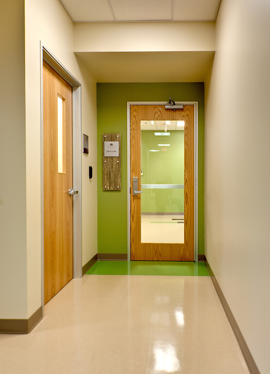 Green Clinic Entry