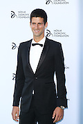 Wimbledon finalist Novak Djokovic hosts a gala dinner at The Roundhouse in Camden, London on July, 8, 2013.<br /> Photo By Ki Price
