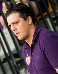 Zlatko Zahovic during football match between NK Maribor and APOEL FC, (Cyprus) in Third qualifying round, Second leg of UEFA Champions League 2014, on August 6, 2013 in Stadium Ljudski vrt, Maribor, Slovenia. (Photo by Vid Ponikvar / Sportida.com)