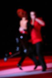"""at """"goodbye"""" event of Slovenian professional sports dance couple Andrej Skufca and Katarina Venturini, named Infinity is Eternity (Neskoncnost je vecnost), on March 2, 2008, in Cankarjev dom, Ljubljana, Slovenia.  (Photo by Vid Ponikvar / Sportal Images)/ Sportida)"""