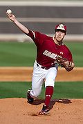 February 25, 2012: Boston College starting rhp Matt Alvarez (30) during non conference NCAA baseball game action between the Boston College Eagles and the Central Florida Knights. Boston defeated UCF in game 2 8-7 at Jay Bergman Field in Orlando, FL