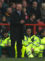 Photo: Richard Lane/Richard Lane Photography. Nottingham Forest v Birmingham City. Coca Cola Championship. 08/11/2008. Alex McLeish encourages his team
