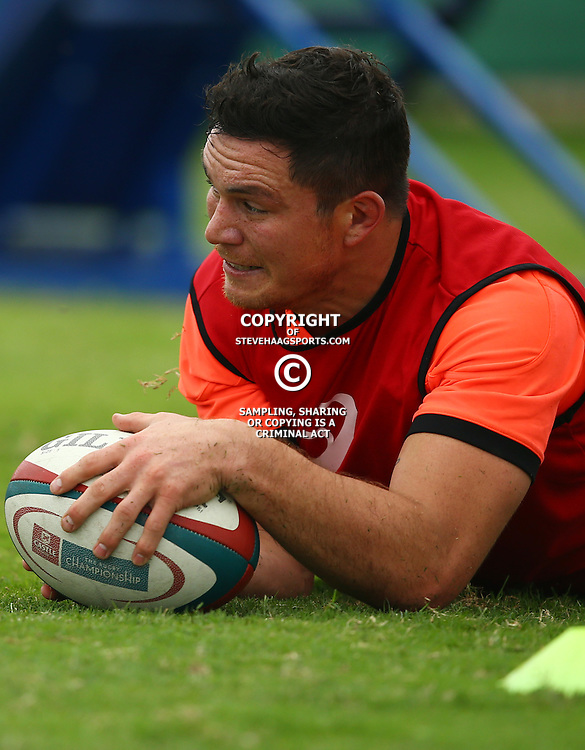 DURBAN, SOUTH AFRICA - SEPTEMBER 01: Francois Louw during the South African national rugby team training session at Peoples Park on September 01, 2015 in Durban, South Africa. (Photo by Steve Haag/Gallo Images)