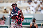 Venus William (USA) during the Roland Garros French Tennis Open 2018, day 1, on May 27, 2018, at the Roland Garros Stadium in Paris, France - Photo Stephane Allaman / ProSportsImages / DPPI