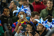 Argentian fans before the International Friendly match at the Boleyn Ground, London<br /> Picture by David Horn/Focus Images Ltd +44 7545 970036<br /> 12/11/2014