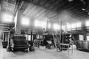 Skeen, Interior of a Tea Factory.