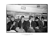 The Rolling Stones arrive at Dublin Airport.<br />