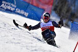 PEDERSEN Jesper, LW11, NOR, Slalom at the WPAS_2019 Alpine Skiing World Cup Finals, Morzine, France