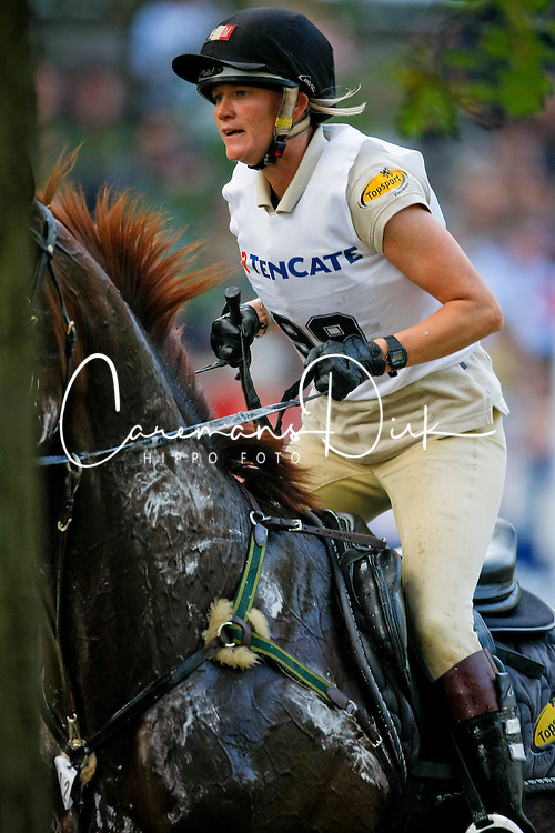 Donckers Karin (BEL) - Charizard<br /> Military Boekelo CCI *2008<br /> Photo &copy; Hippo Foto