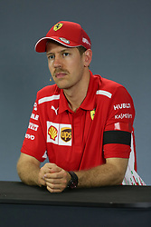 March 16, 2019 - SEBASTIAN VETTEL at the post qualifying press conference at the 2019 Formula 1 Australian Grand Prix on March 16, 2019 In Melbourne, Australia  (Credit Image: © Christopher Khoury/Australian Press Agency via ZUMA  Wire)