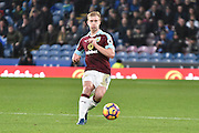 Burnley Defender, Ben Mee (6)  during the Premier League match between Burnley and Bournemouth at Turf Moor, Burnley, England on 10 December 2016. Photo by Mark Pollitt.