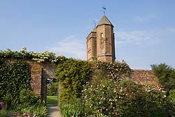 The Tower and Rose Garden at Sissinghurst Castle