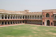 India, Uttar Pradesh, Agra, Agra Fort The palace inside the fort