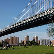 Park under Manhattan Bridge