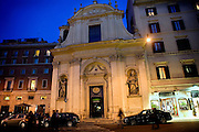 The Church of San Claudio, in Rome, Italy, where Father Igino Troiani, 77, normally carries out exorcisms. He has been an exorcist for around five years.<br /> <br /> FOR MORE INFORMATION PLEASE WRITE TO ALEX@ALEXMASI.CO.UK<br /> <br /> **TEXT AND LENGHTY INTERVIEWS AVAILABLE**