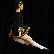 Winnie Wu (Wu Dan), Rainbow Troupe member from Beijing competing at 5th International Feis and Championships, Hong Kong.