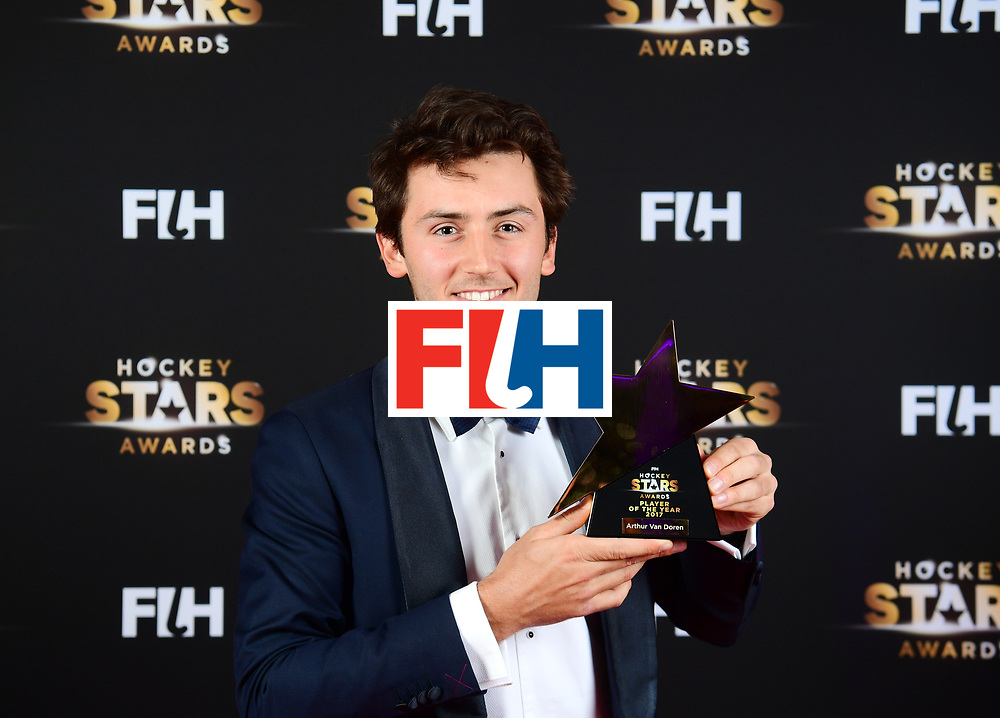BERLIJN - FIH Hockey Stars Awards<br /> Foto: Male Player of the Year<br /> Arthur van Doren<br /> WORLDSPORTPICS COPYRIGHT FRANK UIJLENBROEK