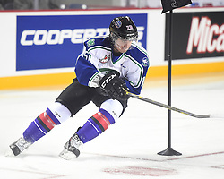 Glenn Gawdin of the Swift Current Broncos in the Skills Combine at the 2015 BMO CHL Top Prospects Game in St. Catharines, ON on Wednesday Jan. 21, 2015. Photo by Aaron Bell/CHL Images