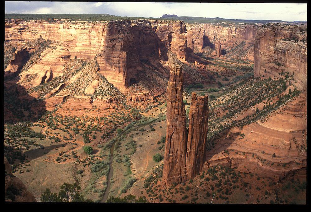 Spider Rock, Canyon de Chelly.  1993