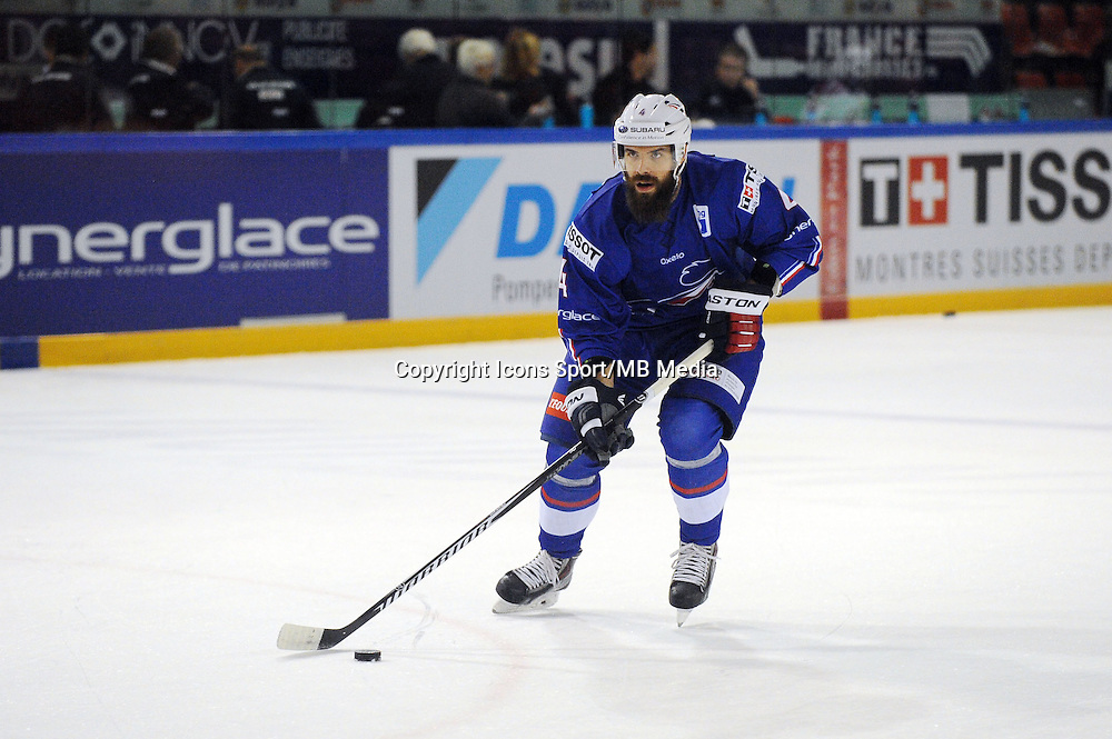 Antonin MANAVIAN - 24.04.2015 - France / Suisse - Match Amical -Grenoble<br />