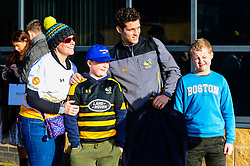 Wasps players arrive - Mandatory by-line: Dougie Allward/JMP - 18/01/2020 - RUGBY - Ricoh Arena - Coventry, England - Wasps v Bordeaux-Begles - European Rugby Challenge Cup