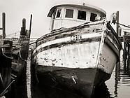 B&W: Boats