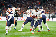 Chase Daniel (QB) of the Chicago Bears in action during the International Series match between Oakland Raiders and Chicago Bears at Tottenham Hotspur Stadium, London, United Kingdom on 6 October 2019.