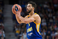Khimki Moscow Anthony Gill during Turkish Airlines Euroleague match between Real Madrid and Khimki Moscow at Wizink Center in Madrid, Spain. November 02, 2017. (ALTERPHOTOS/Borja B.Hojas)