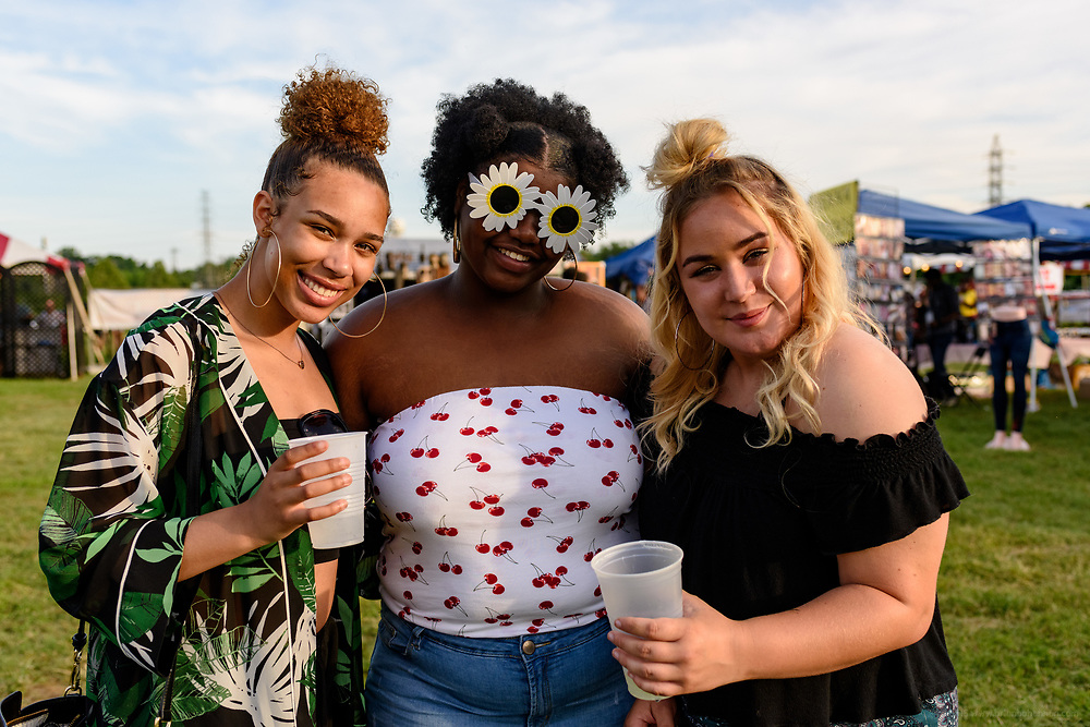 Friday at the Kentucky Reggae Festival sponsored by Four Roses Bourbon at Louisville Water Tower Park on River Road. May 25, 2018