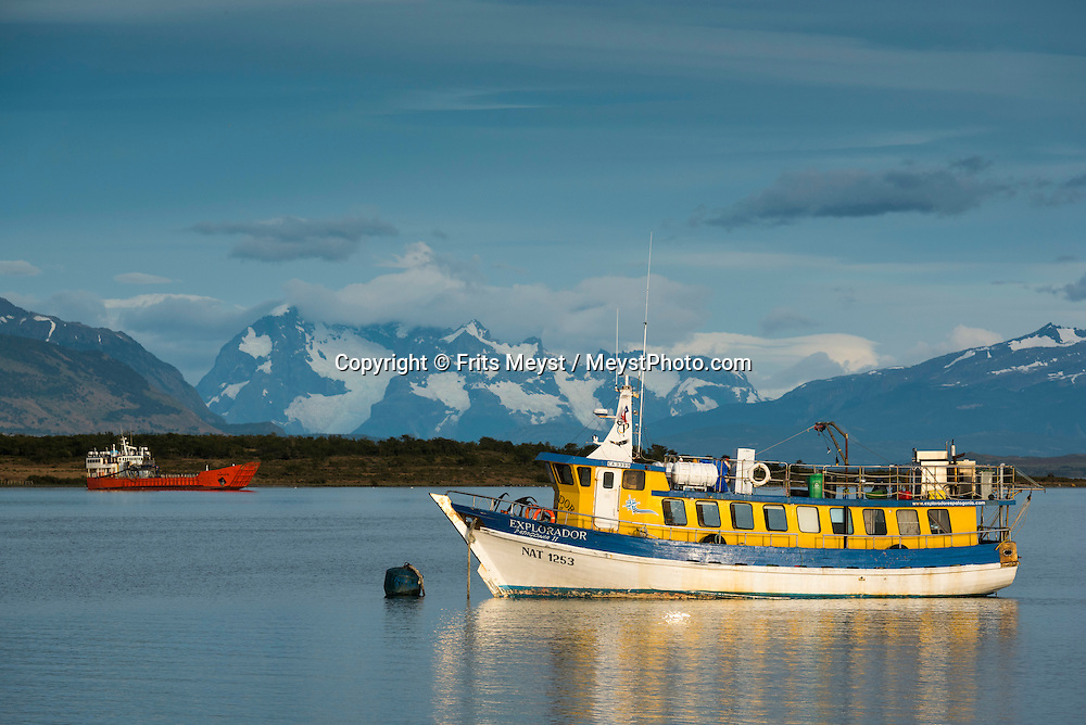 Patagonia, Chile, February 2016.  The frontier town of Puerto Natales is the jump off point for all activities and transportation to the Torres del Paine National Park. A 4x4 camper is one of the best vehicles to explore the wild interior of Southern Patagonia. Photo by Frits Meyst / MeystPhoto.com
