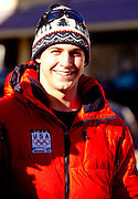 Saranac Lake native and US Olympic Luge athlete Chris Mazdzer at celebratory parade honoring North Country Winter Olympic Athletes. (Photo/Todd Bissonette - http://www.rtbphoto.com