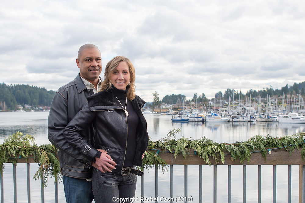 Clark family photos on the Gig Harbor waterfront