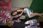Petronella Wyatt.  Lady McAlpine & Vivienne Westwood exhibition. Museum of London. 6 April 2000<br />© Copyright Photograph by Dafydd Jones 66 Stockwell Park Rd. London SW9 0DA Tel 0171 733 0108 www.dafjones.com