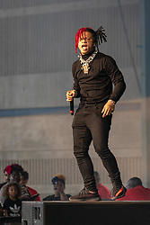 July 3, 2018 - Milwaukee, Wisconsin, U.S - TRIPPIE REDD (MICHAEL LAMAR WHITE IV) during Summerfest Music Festival at Henry Maier Festival Park in Milwaukee, Wisconsin (Credit Image: © Daniel DeSlover via ZUMA Wire)