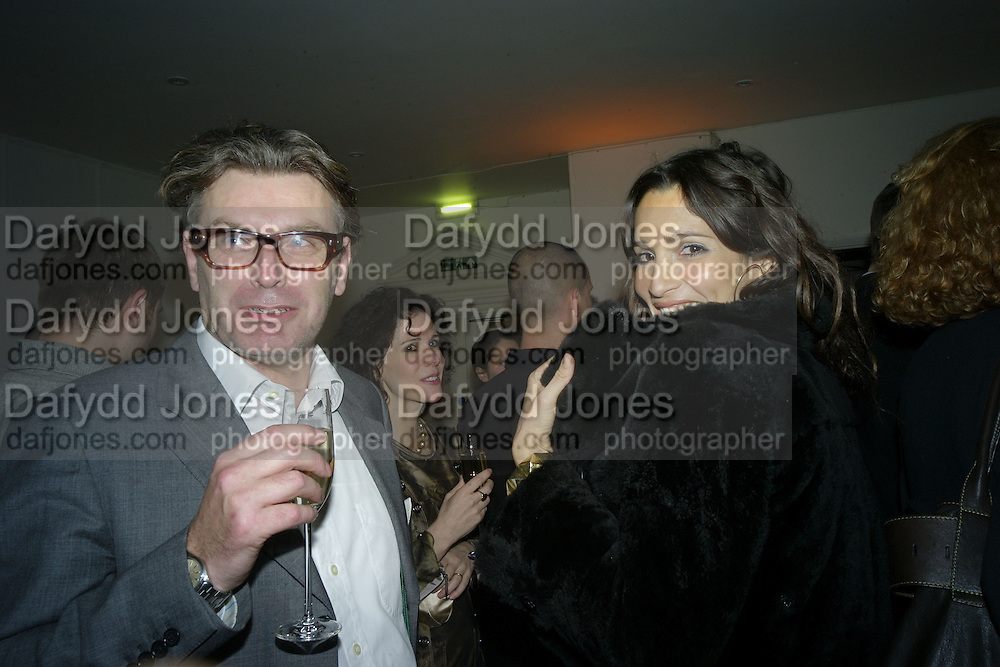 DUNCAN WARD AND ASTRID MUNOZ, TOD'S Art Plus Film Party 2008. Party to raise funds for the Whitechapel art Gallery.  One Marylebone Road, London NW1, 6 March, 8.30 - late<br />
