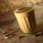Masala chai - Indian masala tea .( Recipe available upon request )