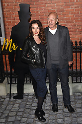 Guest and Sir Patrick Stewart attend Mr Holmes UK film premiere at Odeon Kensington, Kensington High Street, London on Wednesday 10 June 2015