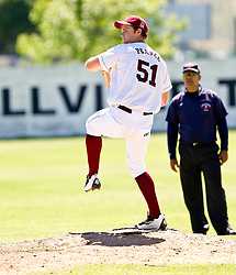 Callan Pearce of the Bellville Tygers pitching during their Major league game against the Bothasig Knights held at the Tygers' home ground at the PP Smit stadium in Bellville on 23 October 2016. Photo by John Tee/RealTime Images.